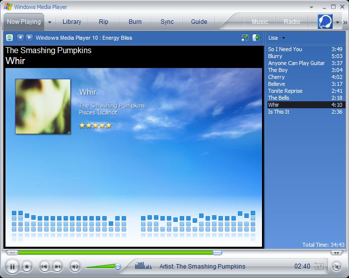 Media Player 10 For Windows 7